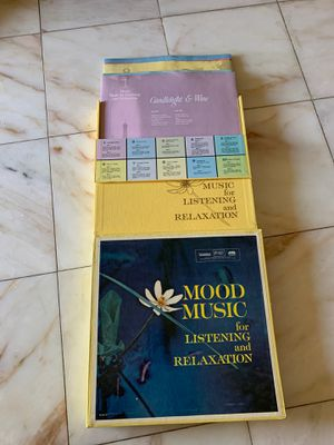 Reader's digest 10 vinyl record lp box set mood music listening relaxation for Sale in Placentia, CA
