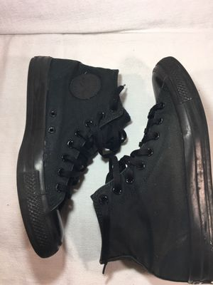 CONVERSE CHUCK TAYLOR ALL STARS ALL BLACK 12 for Sale in Lewisburg, TN