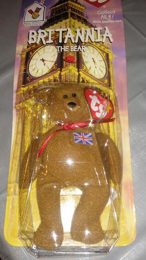 BEANIE BABY BRITANNIA the bear 1999 for Sale in Arcadia, CA
