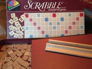 Vintage scrabble board game for Sale in Raleigh, NC