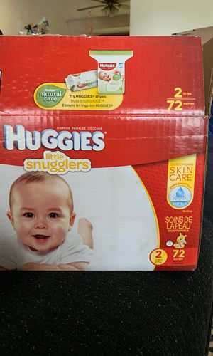 HUGGIES LITTLE SNUGGLERS SIZE 2 for Sale in Greenbelt, MD