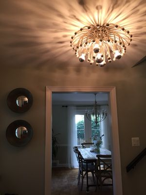 Beautiful entryway chandelier for Sale in Bethesda, MD