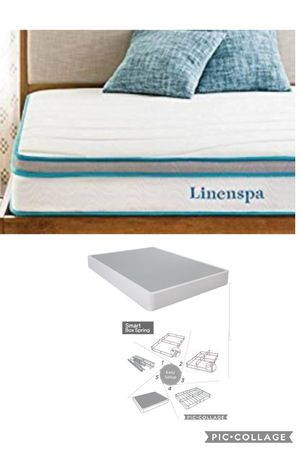 Twin mattress and box spring for Sale in Las Vegas, NV