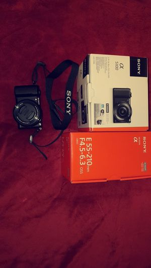 Sony Alpha camera and E-mount changeable lens for Sale in Nashville, TN
