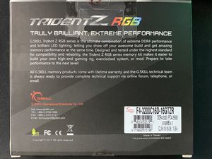 G.Skill TridentZ RGB Series 16GB (2x8GB) 3200MHz DDR4 for Sale in Alexandria, VA