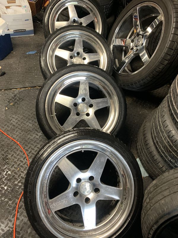 Make a serious offer/ 18inch set / 5x114 pattern