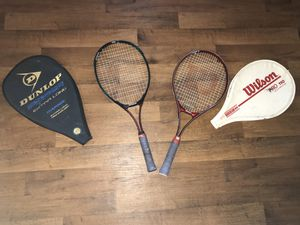 Tennis rackets with case for Sale in Upland, CA
