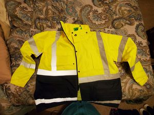 Class 3 flagging waterproof jacket for Sale in Central Point, OR