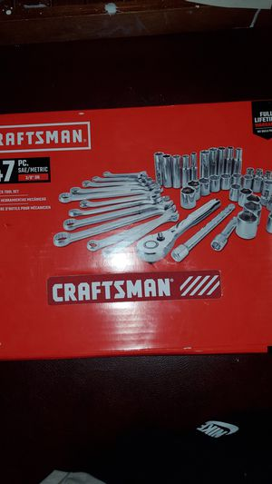 Craftsman 47pc. Mechanics set for Sale in Missoula, MT