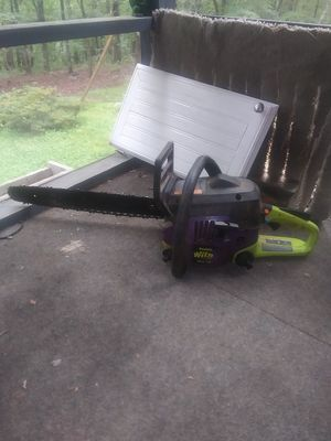 Poulan chainsaw with a brand new rope put in for Sale in Concord, VA