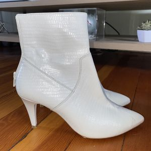 White Heeled Bootie for Sale in Milford, CT
