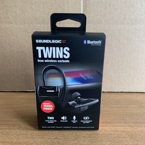 SoundLogic Twins True Wireless Earbuds Twins true wireless Bluetooth for Sale in River Edge, NJ