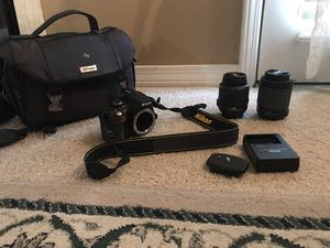 Nikon DSLR d3200 digital camera for Sale in Baton Rouge, LA