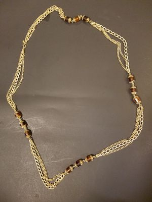 Long fake gold chain necklace for Sale in Miami, FL