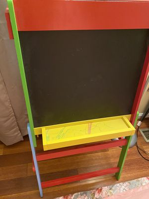 Kids whiteboard and chalkboard easel for Sale in Silver Spring, MD