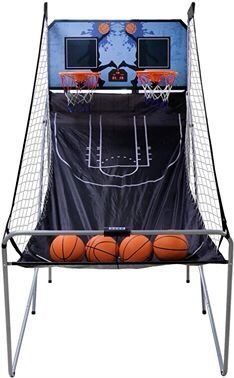 8-in-1 Indoor Kids Children Arcade Basketball Hoop Game Dual LED Scoreboard Folding Electronic for Sale in Toledo, OH