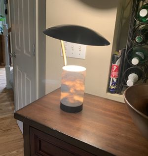 West Elm Marble Pillar Table Lamp for Sale in Sammamish, WA