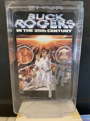 Vintage Mego 1979 Buck Rogers Twiki Action Figure Sealed On Card RARE for Sale in Clackamas, OR