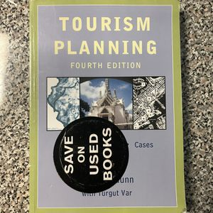 Tourism Planning Basics Concepts Cases 4th Edition A. Gunn Turgut Var for Sale in Los Angeles, CA