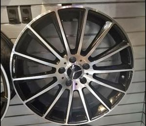 """Mercedes c250 e350 c300 19"""" new amg style rims tires for Sale in Hayward, CA"""