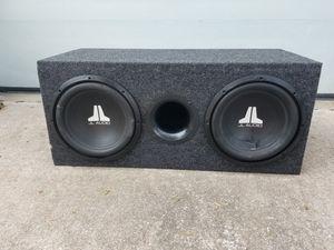 2 JL Audio 12's in Box for Sale in Saint Joseph, MO