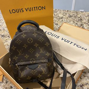 Louis Vuitton Palm Springs Backpack Monogram Canvas Mini for Sale in Pittsburgh, PA