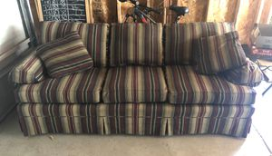 "Cloth Couch 84"" for Sale in Wichita, KS"