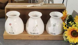 Rae Dunn Bud vases / farmhouse decor home for Sale in Compton, CA
