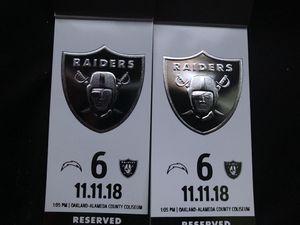 Raiders tickets for Sale in Modesto, CA