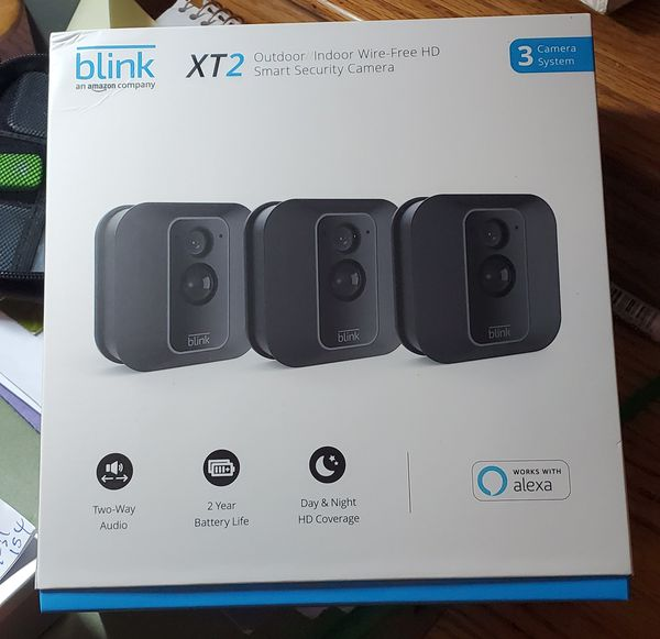 Blink X2 security camera 3 - pack .