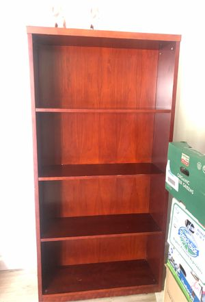 Redwood 5 shelve bookshelve for Sale in San Jose, CA