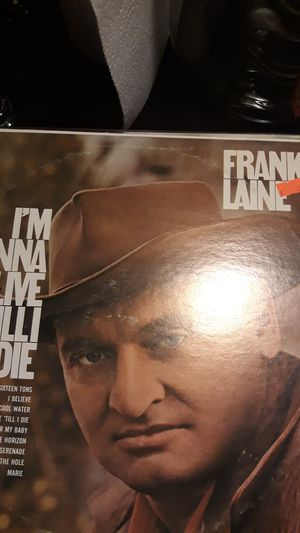 Frankie laine I'm gonna live til I die lp. for Sale in Tracy, CA