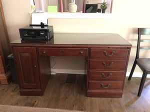 Solid Cherry Desk for Sale in Milford Charter Township, MI