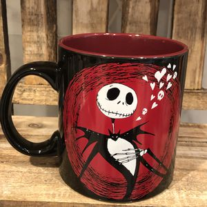 Disney Tim Burton's Nightmare Before Christmas Jack Skellington Mug for Sale in Miami, FL