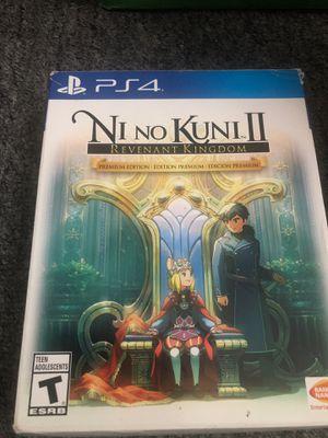 Ni no kuni 2 revenant kingdom premium edition ps4 for Sale in Santa Ana, CA