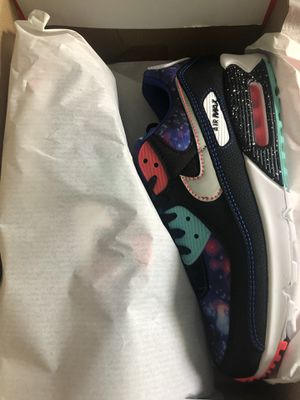 Nike Air Max 90 'Galaxy' Size 9 New 2020 - CW6018-001 for Sale in Troy, MI