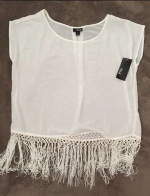 Woman's fringe shirt for Sale in Turlock, CA