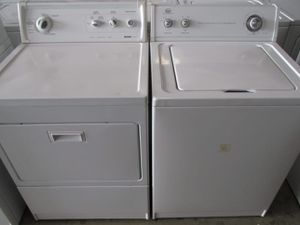 Washer and dryer heavy duty super load capacity for Sale in Hurst, TX