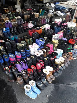 Snow and rain boots for sale for Sale in Stockton, CA