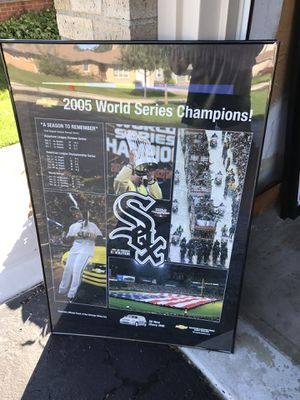 2005 World Series poster for Sale in Elk Grove Village, IL