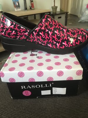 Breast Cancer Ribbon Clogs size 9 for Sale in Tampa, FL