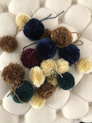 Assorted Pom poms for Sale in Tempe, AZ