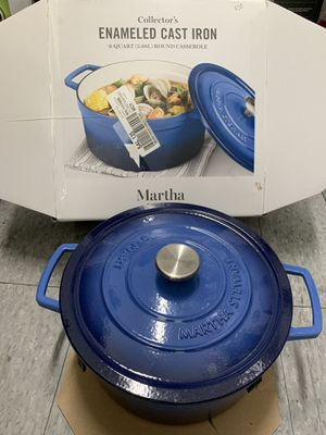 Enameled cast iron 6 quarters $758 qts 80, Fry Pan 12 inches $40 for Sale in Los Angeles, CA
