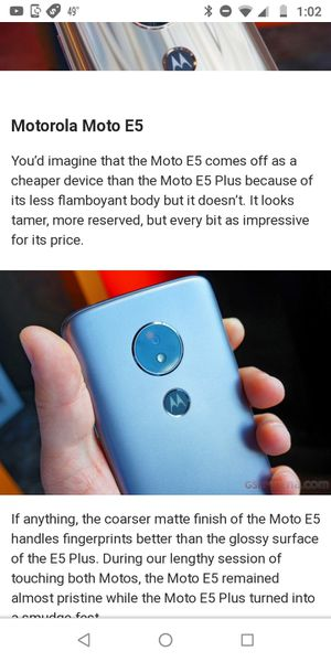 Moto e 5 for Sale in New Hradec, ND
