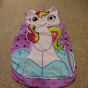 Fitted Unicorn Sleeping Bag For Twin Bed for Sale in Alpharetta, GA