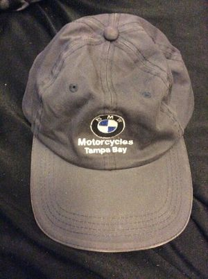 BMW Motorcycle hat Tampa Bay (Gray) for Sale in Clearwater, FL