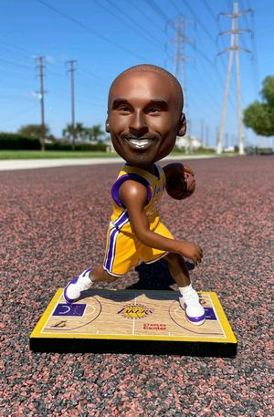 LAKERS CHRISTMAS GIFTS for Kobe Bryant Bobblehead and NBA Collection perfect idea for Christmas gifts for men kids for Sale in Anaheim, CA