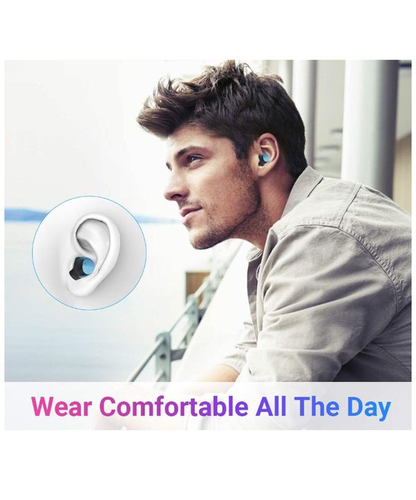 True Wireless Earbuds IPX6 Waterproof Bluetooth Headphones Auto Pairing Bluetooth Earphones,24H Play Time, Touch Control Bluetooth 5.0 Headsets with