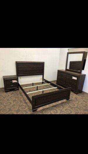 Queen size bedroom set 4pcs brand new in box for Sale in Phoenix, AZ