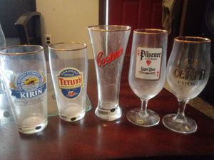 Columbia House World Breweries Collection of Beer Glasses for Sale in Taylor, MI